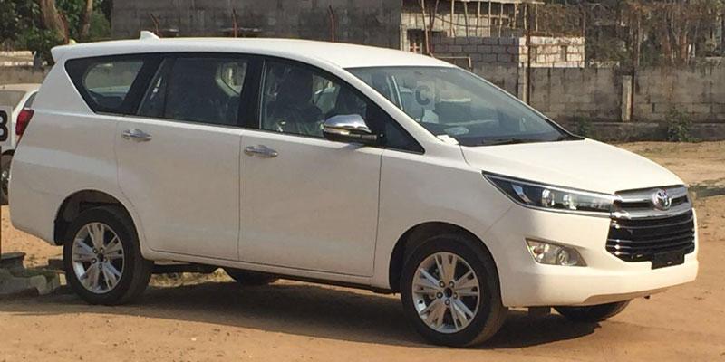 Toyata Innova Crysta - Bhubaneswar cab rental