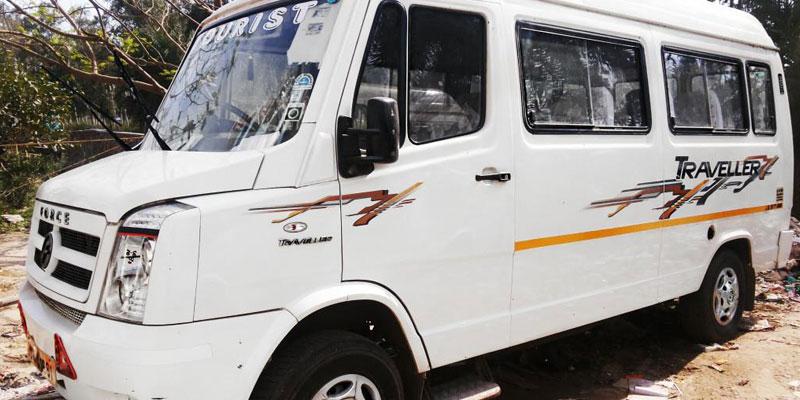 AC 13 Seater Tempo Traveller - Bhubaneswar Cab Rental