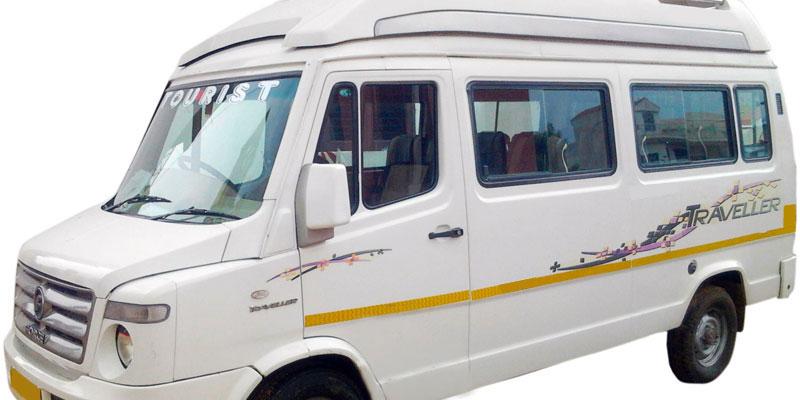 17 Seater AC Tempo Traveller - Bhubaneswar Cab Rental
