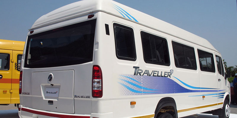 15 Seater AC Luxury Force Traveller - Bhubaneswar Cab Rental