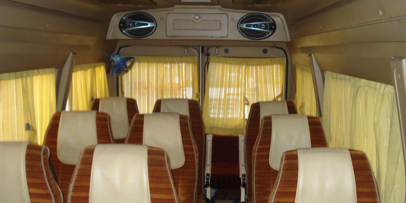 18 Seater AC Luxury Force Traveller - Bhubaneswar Cab Rental