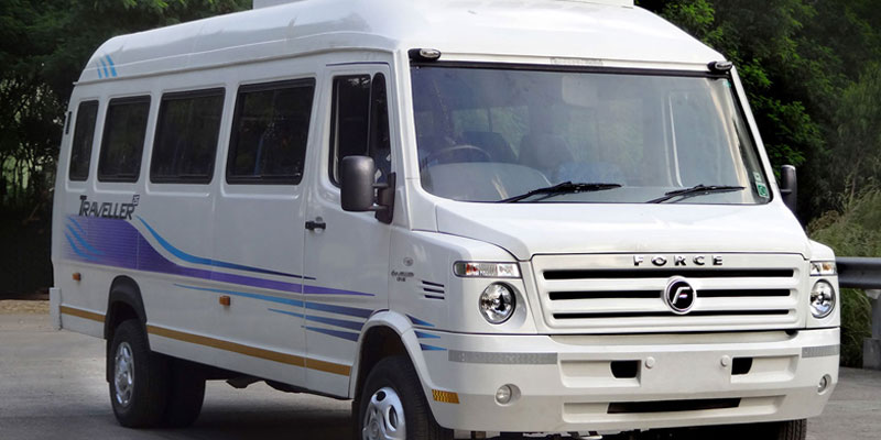 26 Seater AC Force Traveller - Bhubaneswar Cab Rental