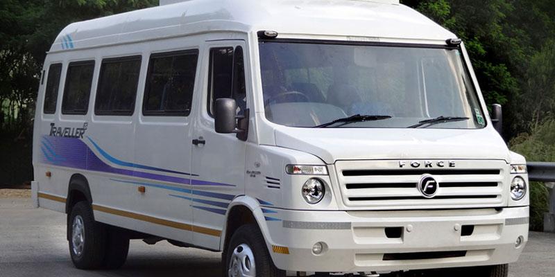 26 Seater AC Force Traveller - Bhubaneswar Cab Rental