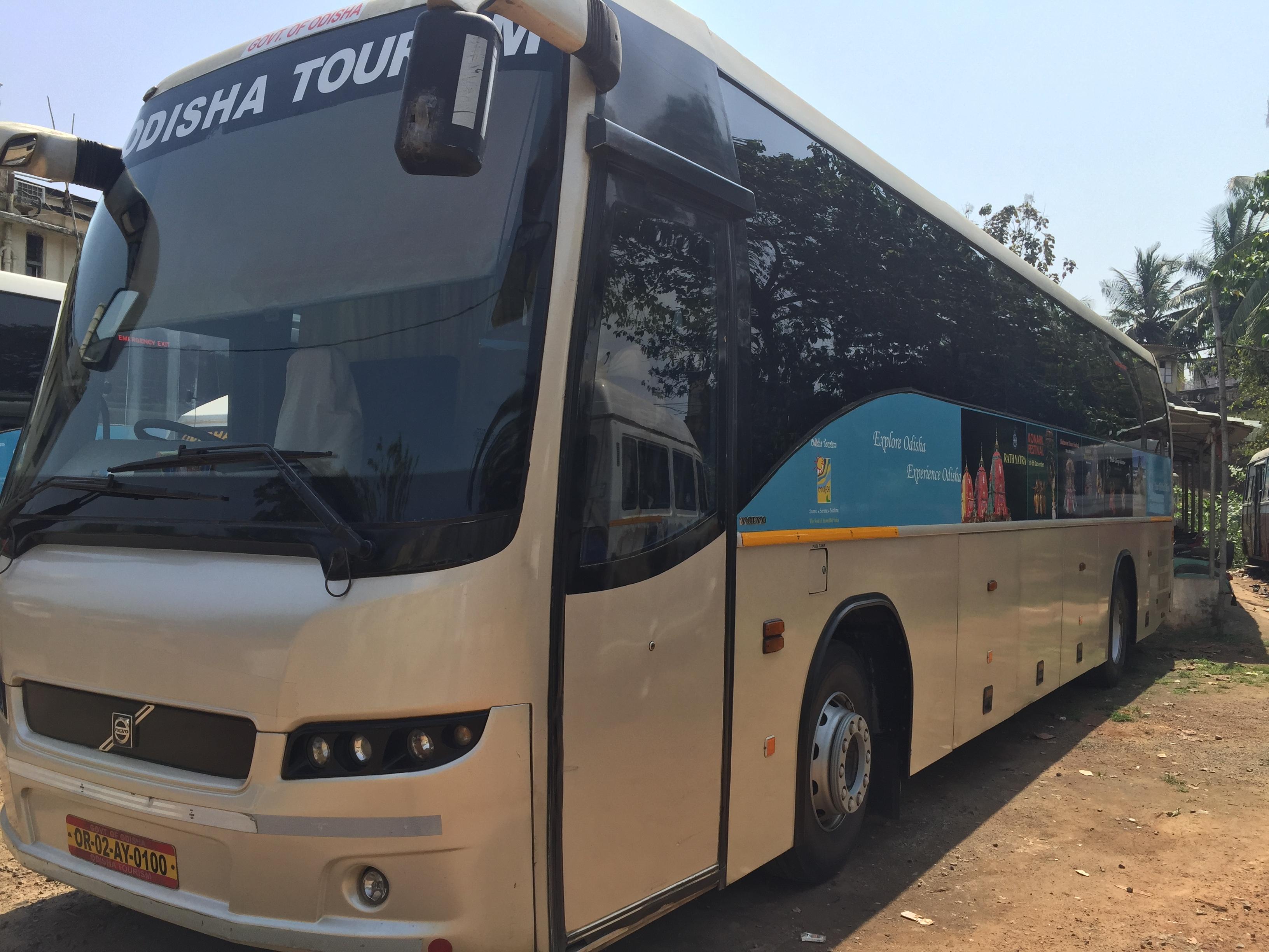 45 Seater AC Volvo Bus - Bhubaneswar Cab Rental