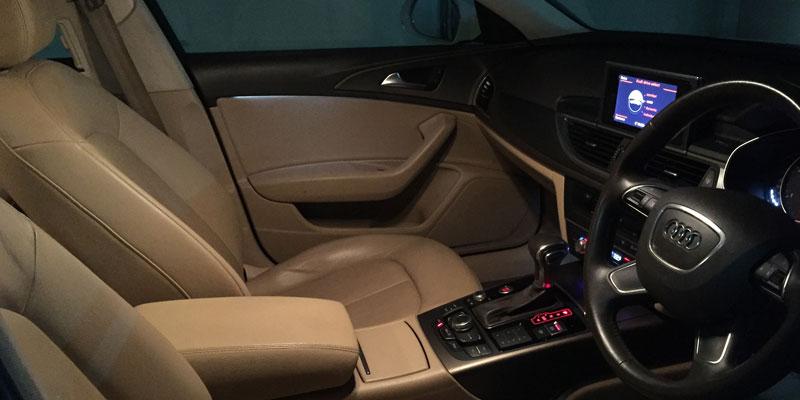 Audi-A6-Interiors - Bhubaneswar Cab rental