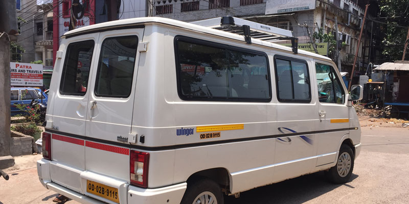 Bhubaneswar to Quilon Taxi Services