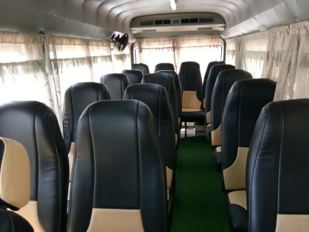 AC 17 Seater Tempo Traveller in Bhubaneswar