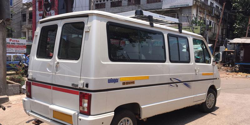 Bhubaneswar to Tripura Taxi Services
