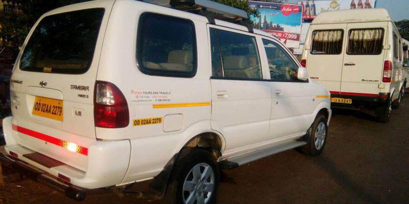 Bhubaneswar to Gujarat Taxi Services