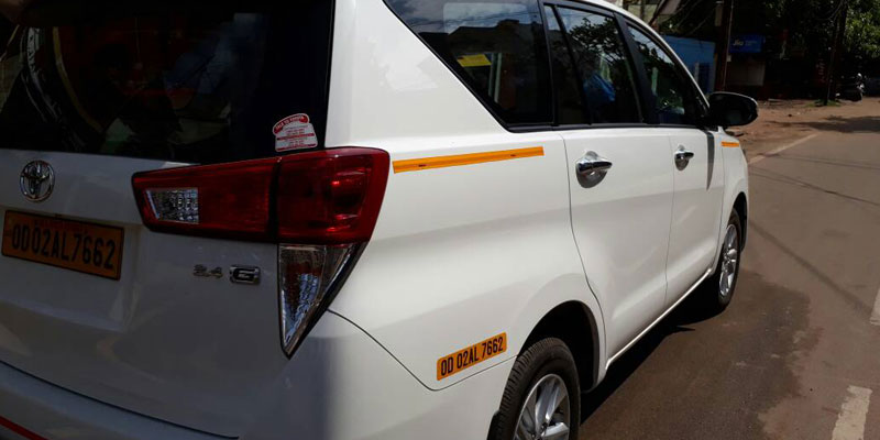 Bhubaneswar to Mizoram Taxi Services