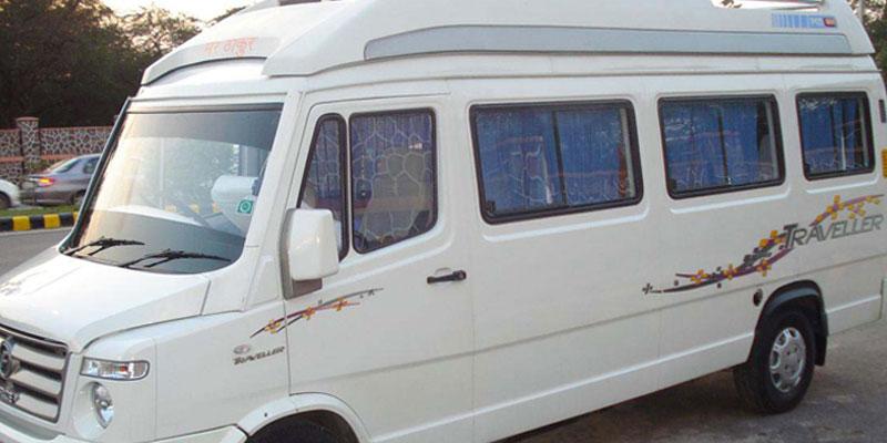 Tempo Traveller in Odisha