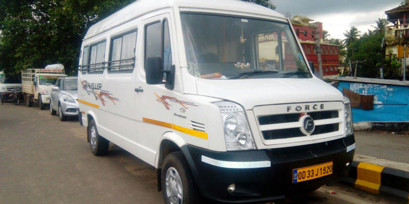 Tempo Traveler Service in Odisha