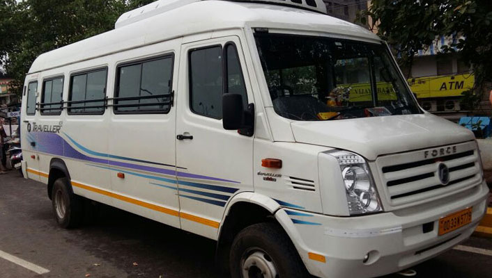 Tempo Traveller Hire in Bhubaneswar