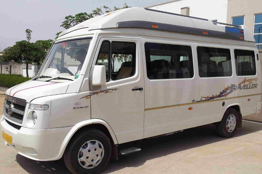 Tempo Traveler in Puri